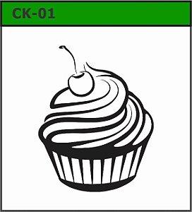 Carimbos coleção Cupcake