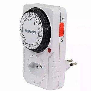 Timer Analogico Temporizador Bivolt 96 Progr. Exatron 2000w