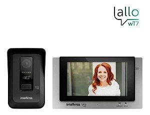 Interfone Vídeo Porteiro Wi-fi Intelbrás Allo Wt7