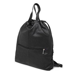 Mochila Slim Bag em Couro Legítimo