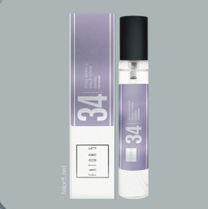 Perfume Pocket 34 - LIGHT BLUE