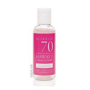 Álcool Gel 70% Hawayy Fator 5 120ml