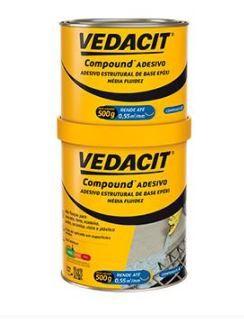 Compound Adesivo MF- 1 KG- VEDACIT