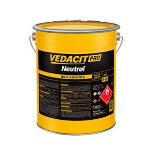 Neutrol Pro Tinta Asfaltica 18L- Vedacit