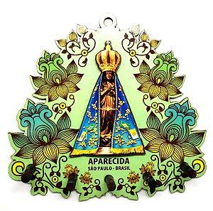 Porta Chaves Aparecida - Santa Flores Verde #04
