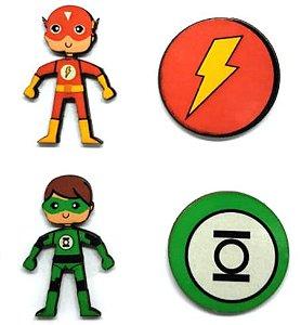 Aplique em MDF #07 Heróis
