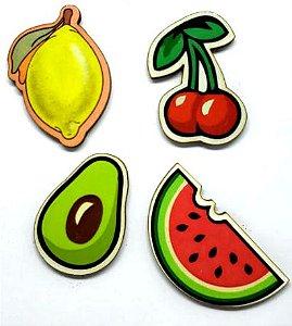 Aplique em MDF #35 - Frutas II