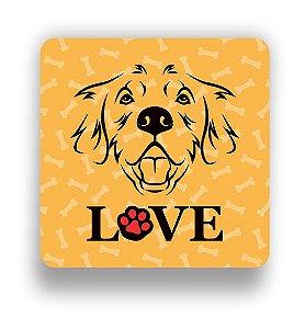 Porta Copo Magnético/Imã de Geladeira | LOVE DOG (4)