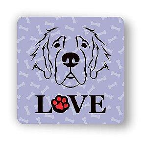 Porta Copo Magnético/Imã de Geladeira | LOVE DOG (5)