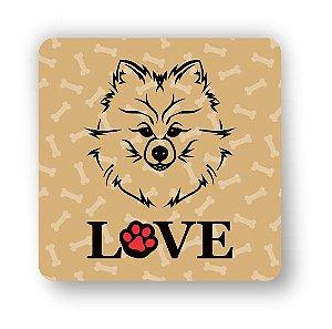 Porta Copo Magnético/Imã de Geladeira | LOVE DOG (6)