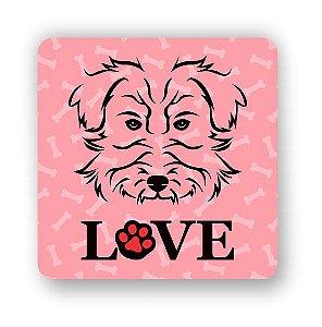 Porta Copo Magnético/Imã de Geladeira | LOVE DOG (7)