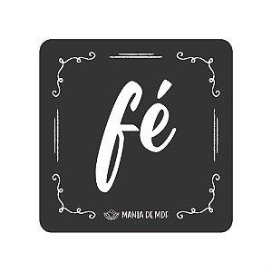 Porta Copo Magnético/Imã de Geladeira  | Fé