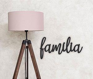 Letreiro de Parede em MDF | Família