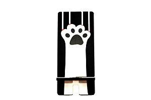 Porta Celular | Gato Arranhando Preto
