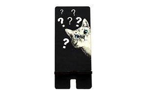 Porta Celular | Gato Ponto de Interrogação