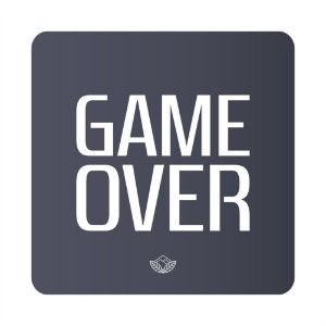 Porta Copo Magnético/Imã de Geladeira  | Game Over