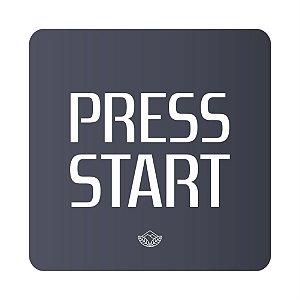 Porta Copo Magnético/Imã de Geladeira  | Press Start