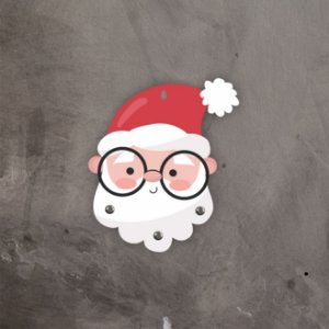 Porta Chaves | Natal | Papai Noel