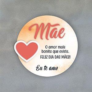 Placa Decorativa | Dia das Mães