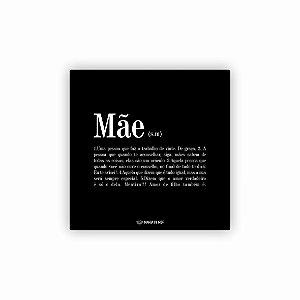 Quadro Decorativo em MDF | Significado MÃE