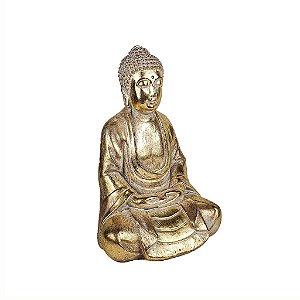 Escultura de Resina - Buda Meditando
