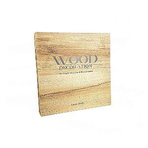 Livro Caixa - MDF/Wood