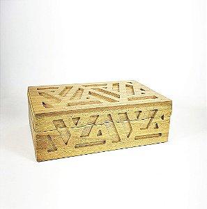 Caixa de Madeira - Retangular/Grande