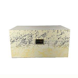 Caixa de Madeira - Dourada/Grande