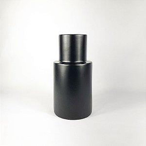 Vaso de Cerâmica - Preto