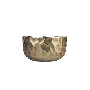Vaso de Cerâmica - Relevos/Metálico