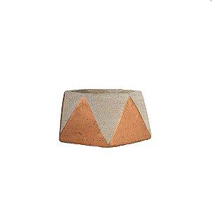 Cachepot de Cimento - Cobre