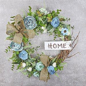 Guirlanda de Flores - Home/ Azul