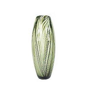 Vaso de Vidro - Verde Militar/Abstrato