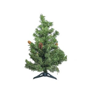 Árvore de Natal Decorativa - Pinhas