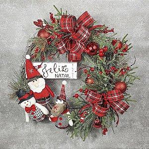 Guirlanda de Natal - Friends/Vermelha
