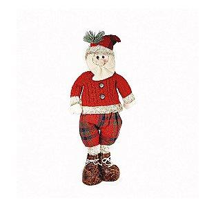 Papai Noel Sentado - Suéter Vermelho