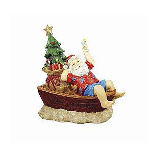 Papai Noel de Resina- Férias