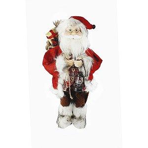 Papai Noel Vermelho - Segurando Lanterna