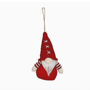 Mini Kringle Decorativo - Vermelho X