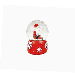Mini Globo de Vidro - Papai Noel