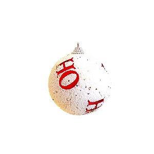 Jogo de Bolas Decorativas - HoHoHo