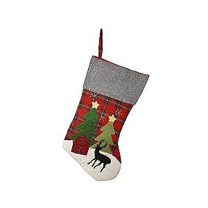 Bota Decorativa - Floresta de Natal