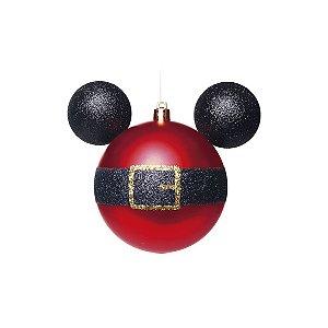 Kit Bolas Natalinas Silhueta Mickey - Cinto Noel c/6