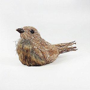 Pássaro Moose Decorativo Rústico - 21cm