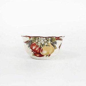 Tigela de Cerâmica Natalina - Frutos