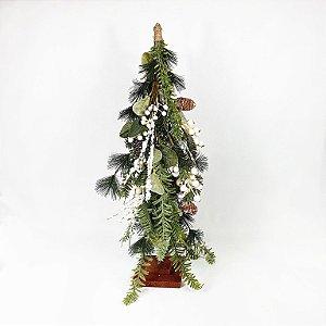 Árvore de Berrys Branco - Natalina - 62cm