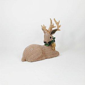 Rena Decorativa - Sentada