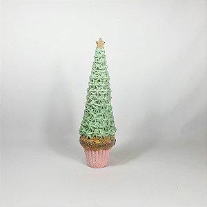 Árvore Candy em Resina - Verde