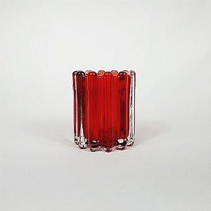 Vaso Decorativo - Vermelho - 10cm