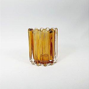 Vaso Decorativo - Amarelo - 10cm
